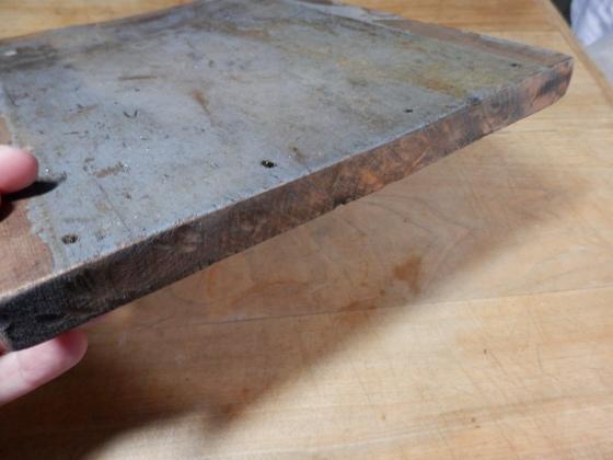 piece of salvaged wood
