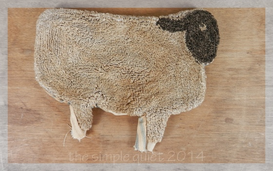 sheep pull toy