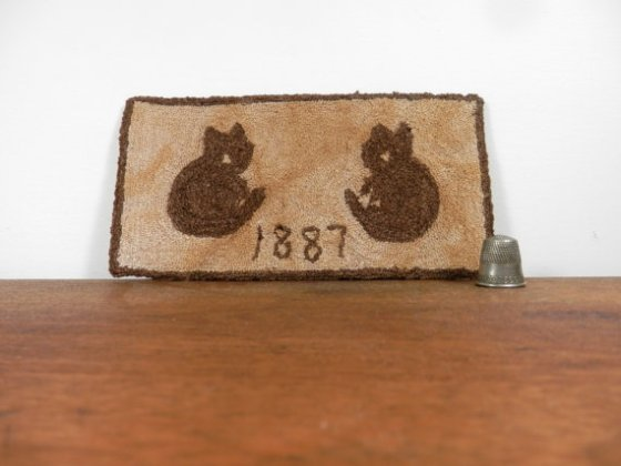 1887 kitties ~ antique inspired